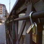 «Candados de Amor» en el Puente Viejo