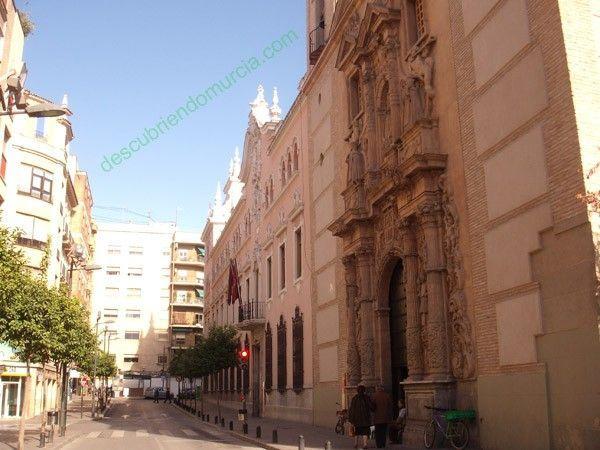 murcia51 La calle de los descabezados en Murcia