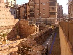 muralla murcia veronicas 300x225 La Muralla Islámica de Verónicas en Murcia