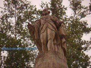 conde de floridablanca1 300x225 Jardín de Floridablanca, el primer jardín público de España
