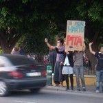 Democracia Real Ya en la Glorieta de Murcia