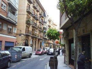 calle sagasta murcia1 300x225 Shoefiti por las calles de Murcia