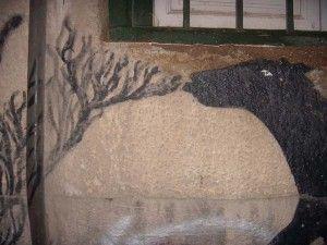Sam3 murcia callejon cubos 300x225 Otra obra de Sam3 por la Catedral de Murcia