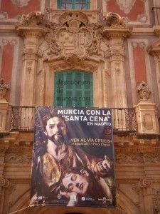 Murcia con la Santa Cena en Madrid Palacio Episcopal1 225x300 La Última Cena de Salzillo de procesión por Madrid
