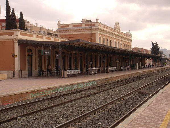 estacion tren murcia barrio carmen1 Polémica en el tren. Objetivo: unir Murcia con Madrid