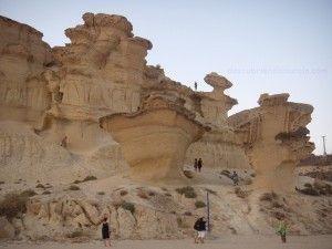 Gredas de Bolnuevo Mazarron 300x2251 Lugares imprescindibles de la Región de Murcia