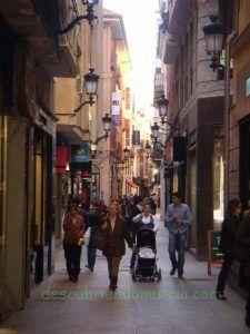 calle Plateria Murcia 225x300 La calle Platería de Murcia y su cambio de nombre