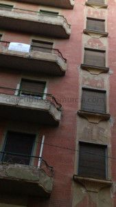 Murcia edificio calle Lepanto 169x300 El curioso edificio de la calle Lepanto en Murcia