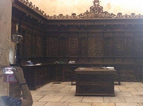 Catedral Murcia sacristia La restaurada Sacristía de la Catedral de Murcia