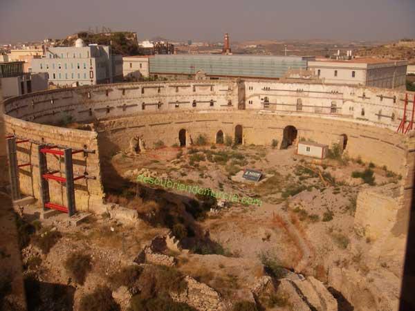 anfiteatro romano Cartagena Cartagena. Sitiada, saqueada, arrasada y expoliada.