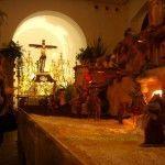 El primer belén sardinero de Murcia en la Iglesia del Carmen