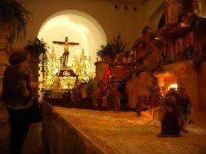 belen sardinero murcia 300x225 El primer belén sardinero de Murcia en la Iglesia del Carmen