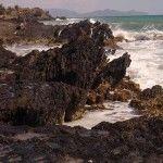 Percheles y su paradisíaca playa a vista de dron