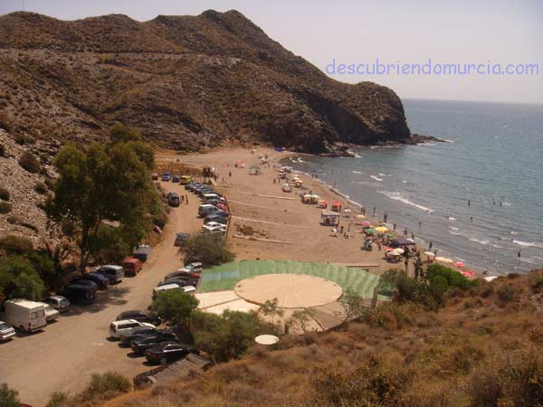 Puntas de Calnegre cala Puntas de Calnegre, el desierto junto al mar