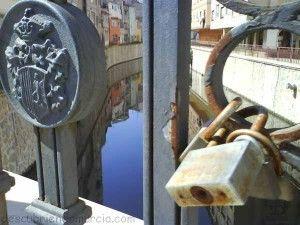 puente con candados en Orihuela 300x225 Candados de Amor (II Parte)