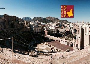Cartagena Teatro Romano 300x216 El pintor murciano Pedro Cano, expone en el Mercado de Trajano de Roma