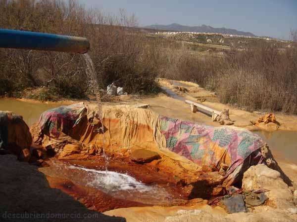 El Saladillo Mazarron Las aguas termales de El Saladillo en Mazarrón