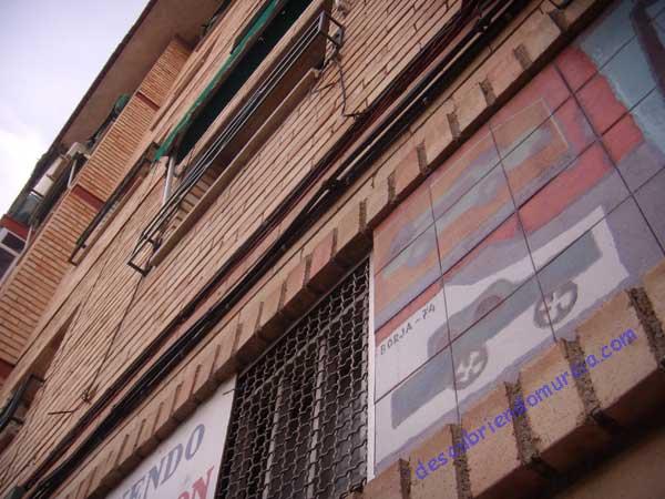 Pedro Borja pintor murciano La obra de Pedro Borja por las calles de Murcia