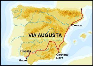 Via Augusta Cartagena Murcia El Palmar 300x214 La carretera del Palmar es la Vía Augusta