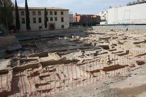 yacimiento islamico San Esteban Murcia 300x200 6 finalistas para el Museo Medieval que se construirá en el yacimiento de San Esteban