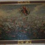 El cuadro de la Batalla de Lepanto en la Iglesia de Santo Domingo en Murcia