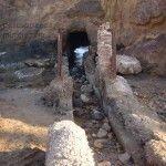 Las salinas de la Playa de Nares en Mazarrón