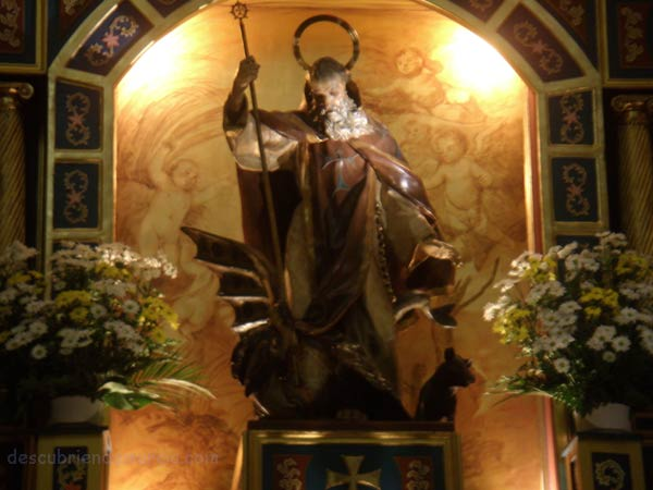 San Anton Salzillo Murcia La Ermita de San Antón y el Toisón de Oro