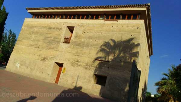 Torre Vieja de los Moros Obispos Alguazas Murcia Obras cerca de la Torre Vieja de Alguazas
