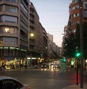Gran Via Murcia 292x300 El tranvía y su paso por la Gran Vía de Murcia