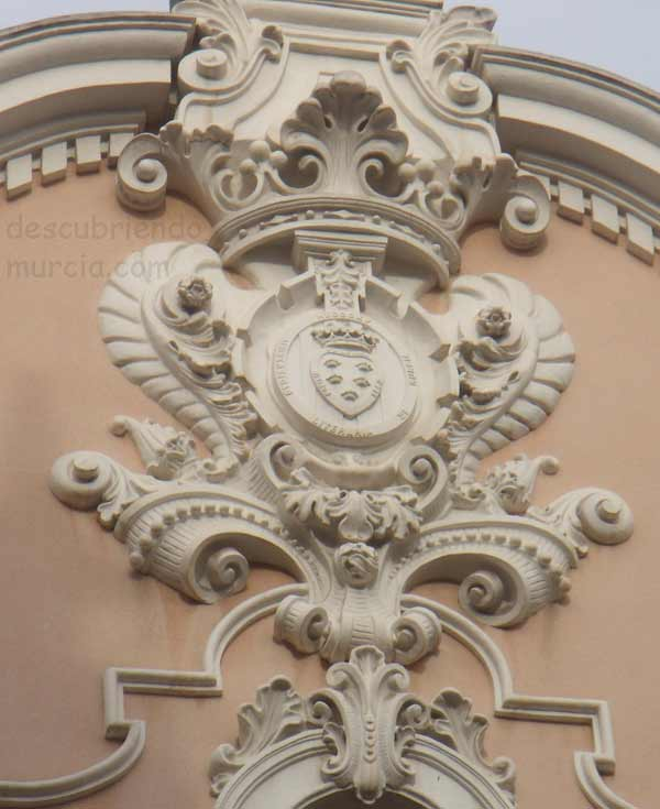 campus La Merced Universidad de Murcia Alfonso X el Sabio y las 5 coronas de su escudo