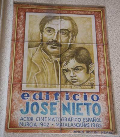 Jose Nieto edificio calle Sociedad Murcia José Nieto el actor que se codeó con los grandes de Hollywood
