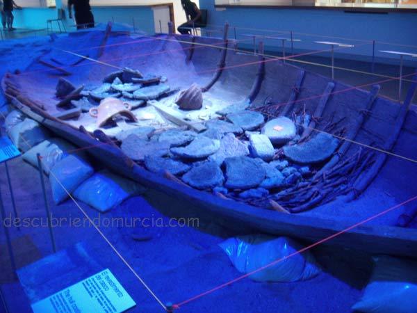 barco fenicio Mazarron 2 reconstruccion ARQUA Uno de los barcos más antiguos del mundo descansa en Mazarrón