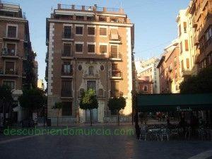 Colegio San Leandro Plaza Apostoles Murcia 300x225 La pensión de San Leandro, Plaza de los Apóstoles
