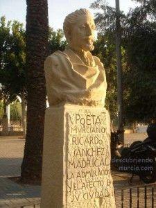Jose Planes Ricardo Sanchez Madrigal Murcia 225x300 Escultura de José Planes en el Barrio del Carmen