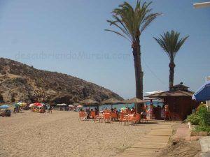Playa Grande el Castellar Mazarron 300x225 Premios para los chiringuitos responsables