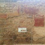 Las pinturas romanas en El Molinete de Cartagena