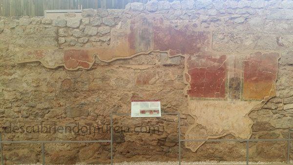 pinturas Molinete Cartagena Las pinturas romanas en El Molinete de Cartagena