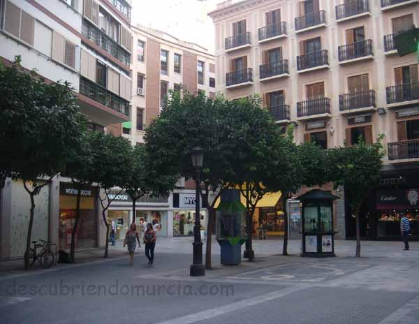 plaza Jose Esteve Mora Murcia El Kilómetro Cero de la Región de Murcia
