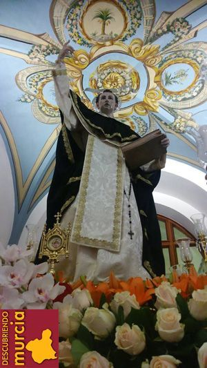 San Vicente Ferrer San Vicente Ferrer y la profecía sobre el río Segura