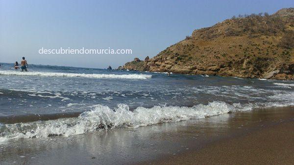 El Gorguel La Union Portman Concentración ecologista en la playa de El Gorguel