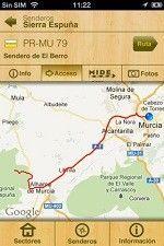 GeoSenderos Murcia