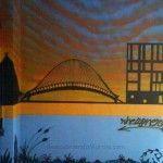 calle Capuchinos Murcia 150x150 Mural en un garaje del Barrio del Carmen