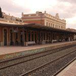 estacion tren Murcia barrio Carmen