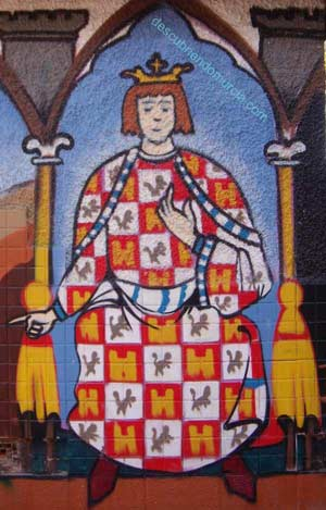 Alfonso X el Sabio grafo en Murcia Alfonso X el Sabio y el Panocho