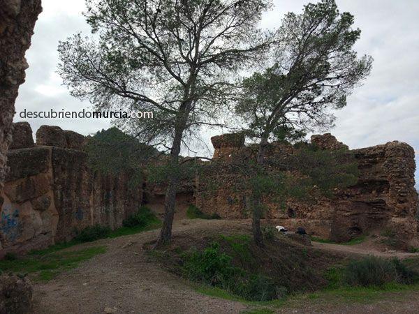 Castillo La Luz Murcia El Castillo islámico de La Luz en Murcia