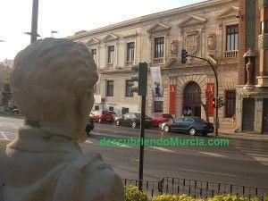 Palacio Almudi Murcia 300x225 El decapitado busto del poeta Sánchez Madrigal