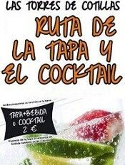 Ruta Tapa y Coctel Torres de Cotillas Murcia3 Tapas y el Cóctels en las Torres de Cotillas