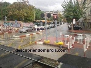 Torre de Romo Murcia paso a nivel 300x225 La estación para el AVE, en Los Dolores