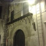 Palacio de los Pacheco en Murcia y su arco de medio punto