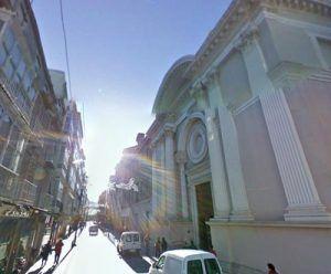 iglesia de La Caridad Cartagena 300x248 Virgen de la Caridad, su basílica, su hospital y sus limosnas